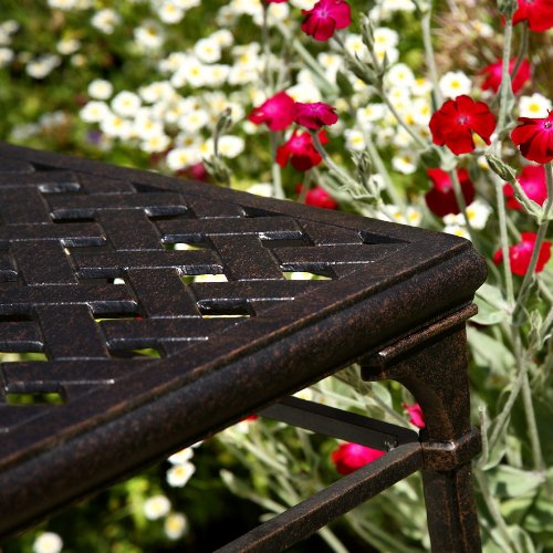 console de jardin style fer forg dirtap. Black Bedroom Furniture Sets. Home Design Ideas