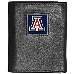 NCAA Arizona Wildcats Deluxe Leather Tri-fold Wallet