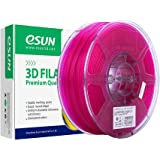 eSUN Transparent PLA Filament 1.75mm, PLA 3D Printer Filament, Dimensional Accuracy +/- 0.05mm, 1KG (2.2 LBS) Spool 3D Printi
