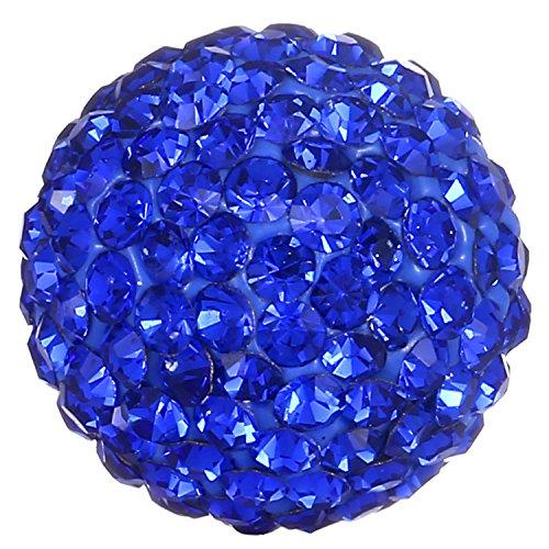 Morella Sfera Donna con zirconi Blu Ø 16 mm
