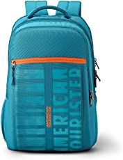 American Tourister X-Jock 28.5 Ltrs Teal Laptop Backpack (Fi7 (0) 11 002)