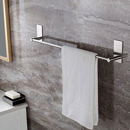 KES Toalleros de Barra Lavabo 3M Mismo Adhesivo Solo 12 Pulgadas toallero...