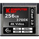Komputerbay professionale 3700x 2.0 Card 256GB CFast (fino a 560MB / s in lettura e fino a 495 MB / s) immagine