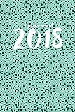 Agenda anual 2018 (diseño de lunares)