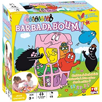 TF1 Games 1124 - Jeu de société - Barbapapa - Barbadaboum !