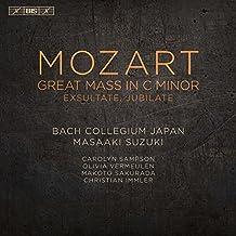 Mozart:Great Mass In C Minor [Bach Collegium Japan chorus and orchestra; Carolyn Sampson; Olivia Vermeulen; Makoto Sakurada; Christian Immler, Masaaki Suzuki] [Bis: BIS2171]