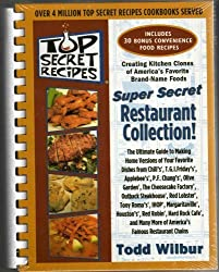 Top Secret Recipes: (Creating kitchen clones of America's favorite brand-name foods): Super Secret Restaurant Collection by Todd Wilbur (2005) Plastic Comb