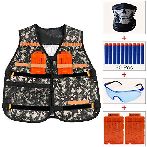 cosoro-bambini-jungle-camouflage-tactical-vest-giacca-kit-con-50pcs-blu-schiuma-occhiali-di-protezio