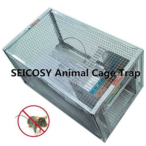 mtl-humane-live-animal-cage-trap-12886-inches-iron-cage-for-mouse-rat-hamstermole-weaselgopher-and-m