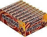 24 Rollen Mentos Schoko Karamell Choco a 38g softer Karamellbonbons mit Schokoladen-Füllung