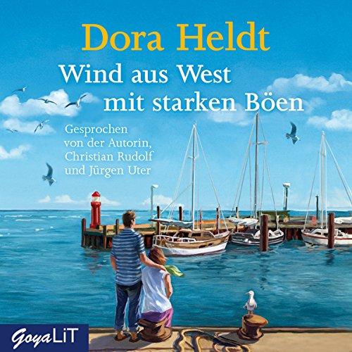 Buchseite und Rezensionen zu 'Wind aus West mit starken Böen' von Dora Heldt
