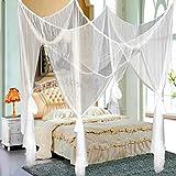 Yahee Moskitonetz Bett Schutz Deko Netz Betthimmel Fliegennetz Mücken für