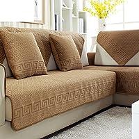Cuscini di peluche divano imbottito inverno/Cuscino antiscivolo minimalista moderno tessuto/[Continental