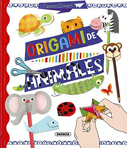 Origami de animales (Figuras con papel) por Susaeta Ediciones S A