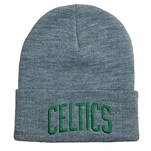 Mitchell & Ness Beanie Cuff Knit Boston Celtics grey