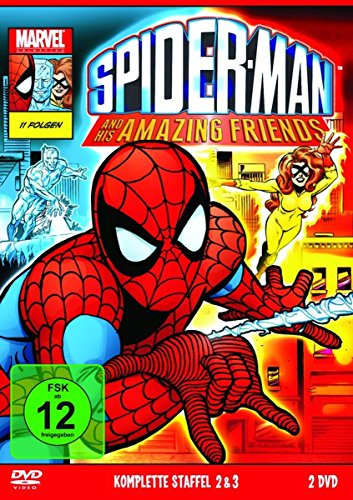 Spiderman And His Amazing Friends - Die komplette Serie [4 DVDs] (Friends Die Komplette Serie Dvd)