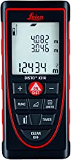 Leica Geosystems X310 Laser Distance Measure (Red and Black - 120 metres)