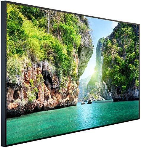 InfrarotPro | Infrarotheizung 900 Watt | Bildheizung 120x75x3 cm | Made in Germany | Geprüfte Technik | Ultra-HD Auflösung | (Bucht in Thailand)