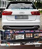FFUSTO Look S6 SLINE Unterputz Audi A6 C7 4G 2011-2014 Heckspoiler