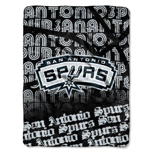Northwest NBA San Antonio Spurs-Episoden Micro Raschel Überwurf Decke, 46x 152,4cm