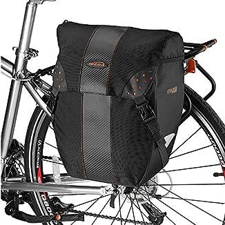 alforjas Ibera para cicloturismo color negro