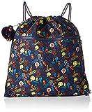 Kipling Supertaboo Borsa sportiva per bambini, 45 cm, 15 liters, Multicolore (Bright Light)