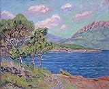 Das Museum Outlet–Die Bucht von Agay, Cote d 'Azur, 1910–Poster Print Online kaufen (152,4x 203,2cm)