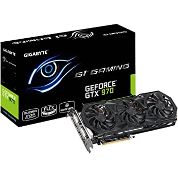 Gigabyte GeForce GTX 970 G1 Gaming GDDR5 Pcie Video Graphics Card 4GB