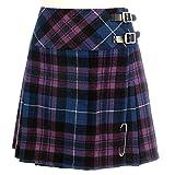 Neu Damen Pride von Schottland Schottisch Mini Billie Schottenrock Mod Rock Größen 6-22UK - Pride von Schottland, 10 UK
