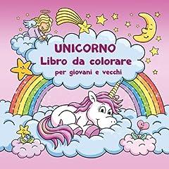 Idea Regalo - Unicorno Libro da colorare per giovani e vecchi + BONUS: Modelli gratuiti di disegno unicorn (PDF da stampare)
