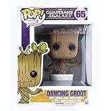 Funko Pop Bailando Figura de Vinilo Dancing Groot, colección Guardians of The Galaxy, Multicolor, One Size (5104)