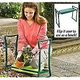 olayer Repose-genoux Chaise de jardin pliante portable kneele Siège Tabouret rembourré genou pad Outils