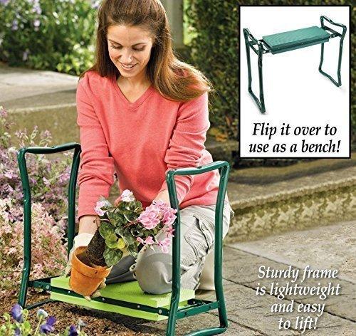 Olayer Klappbare Kniebank Gartenbank, Kneeler Chair Portable Folding Garden kneele Seat Knee Pad Padded Stool Tools