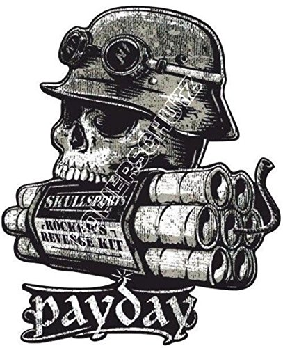 Nr.7 King Kerosin Skullsports Payday Aufkleber/Sticker USW.