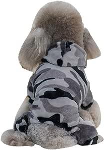 SOMESUN Haustier Hunde Warme Daunenjacke Mit Kapuze Mini H/ündchen Welpe Winterjacke S/ü/ß Pl/üsch Baumwolle Hundemantel Gem/ütlich Weich Elastisch Hundejacke Shirt