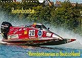 Rennboote - Rennbootserien in Deutschland (Wandkalender 2019 DIN A4 quer): Rennbootserien, die unter anderem in Deutschland gefahren werden (Monatskalender, 14 Seiten ) (CALVENDO Sport)