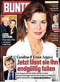 Bunte 3 2017 Caroline Ernst August Zeitschrift Magazin Einzelheft Heft