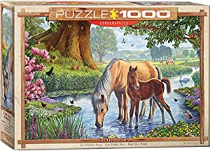 Eurographics 6000-0976 - Puzle de 1000 Piezas, diseño de Los Fell Ponies
