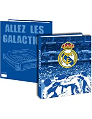 Classeur A4 REAL MADRID - Collection officielle - Rentrée scolaire