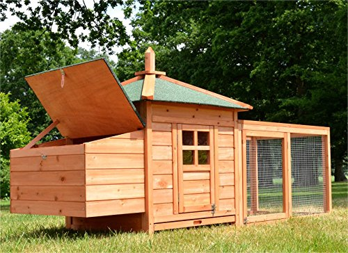 Zooprimus Poulailler en bois pour jardin extérieure...