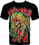 Rock Chang T-Shirt Rock Till Death Noir F02