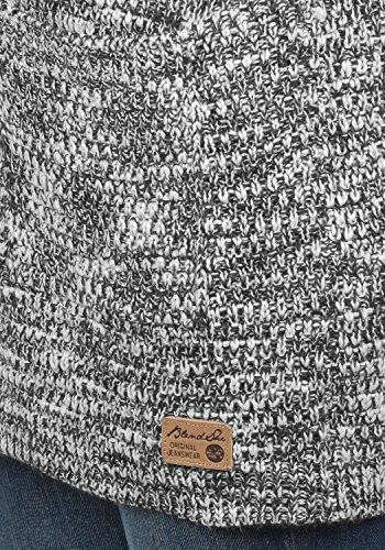 BLEND SHE Zoya Damen Strickjacke Cardigan Grobstrick mit offener V-Ausschnitt aus hochwertigem Material meliert Castlerock (20816)