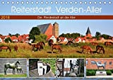 Reiterstadt Verden - Aller (Tischkalender 2018 DIN A5 quer): Die Pferdestadt an der Aller (Monatskalender, 14 Seiten ) (CALVENDO Orte) [Kalender] [Jan 20, 2016] Klünder, Günther