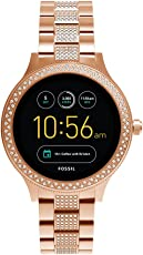 Fossil Venture Analog-Digital Black Dial Women's Watch - FTW6008