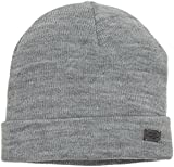 ONLY Damen Strickmütze onlPASIA Knit Beanie Acc, Grau (Light Grey Melange), One Size