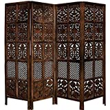 Shilpi Wooden Partition Leave Design/Room Divider/ Wooden Partition / Wooden Room Divider/ Wooden Screen / Wooden Seperator