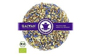 """Núm. 1181: Té de hierbas orgánico """"Ayurveda Vata"""" - hojas sueltas ecológico - 100 g - GAIWAN® GERMANY - Ayurvédico, cilantro, regaliz, cassia, jengibre, anís, acianos"""