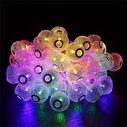 ShinePick Guirnalda Luces 9.5M 50 LED Guirnalda Luminosa