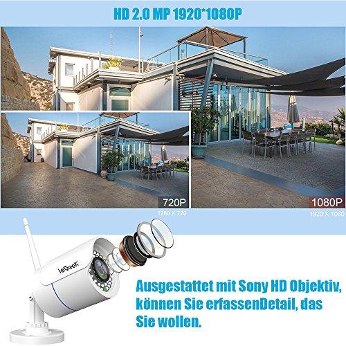 ieGeek HD 1080P Sony LENS Außen IP Kamera - 2