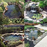 king do way Pond Liner for Garden Landscaping Pools Fountain PVC Membrane Reinforced Puncture Resistance (2.5 * 2.5M) Bild 3